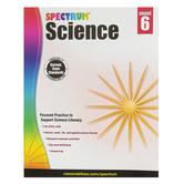 Spectrum, Science Workbook, Paperback, 176 Pages, Grade 6