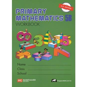 Singapore Math, Primary Math Workbook 5B, U.S. Edition, Paperback, 104 Pages, Grades 5-6