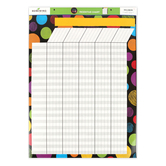 Chalk Talk Collection, Customizable Incentive Chart, 17 x 22 Inches, Multi-Colored, 1 Each