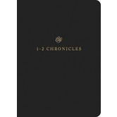 ESV Scripture Journal: 1 and 2 Chronicles, Paperback, Black