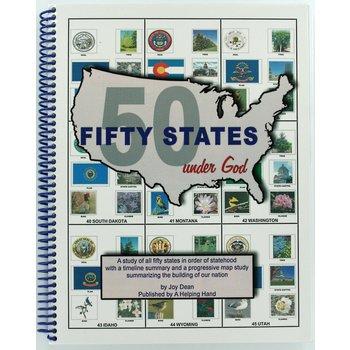 A Helping Hand, Fifty States Under God, Spiral, Grades 3-12