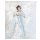 Renewing Faith, Angel with Butterfly Wall Art, Canvas, 11 x 14 inches