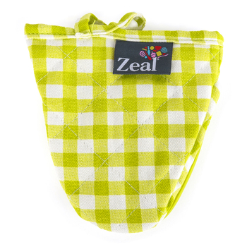 Kitchen Innovations, Zeal Hot Grab Kitchen Helper, Assorted Colors, 5 1/2 x 5 1/2 x 2 inches