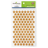 Goin' West Collection, Mini Incentive Stickers, Light Brown, Pack of 1050