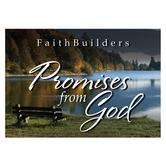 Christian Art Gifts, Promises from God Faithbuilders Pocket Cards, 3 1/8 x 2 inches, 20 cards