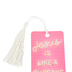 Salt & Light, Jesus Is Like a Cupcake For Your Soul Tassel Bookmark, 2 1/4 x 7 inches