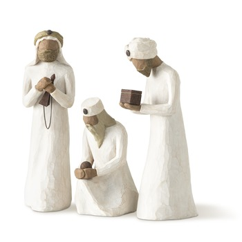 Willow Tree, Three Wisemen - Nativity