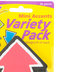 Trend, Bold Strokes Arrows Mini Accents Variety Pack Cutouts, Multi-colored, 3 Inches, 36 Pieces