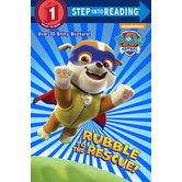 PAW Patrol, Rubble to the Rescue, Step Into Reading, Level 1, by Kristen L. Depken, Paperback