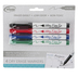 The Board Dudes, Dry Erase Markers, Ultra Fine Point, Assorted Colors, Pack of 4