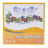 Spontuneous Games, Spontuneous: The Song Game, Ages 8 & Older, 4 to 10 Players