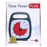 Time Timer, Time Timer Plus 60 Minute, 7 x 8.8 x 3.25 Inches, 1 Piece
