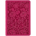 ESV Compact Bible, Large Print, TruTone, Berry, Floral Design