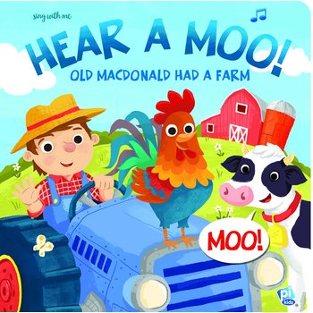 Old MacDonald Hear a Moo, by Phoenix International, Sound Book