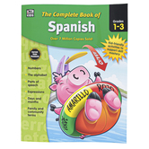 Carson-Dellosa, The Complete Book of Spanish Workbook, Paperback, 416 Pages, Grades 1-3
