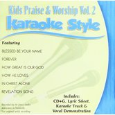 Kids Praise & Worship Volume 2, Karaoke Style, As Made Popular by Various Artists, CD+G