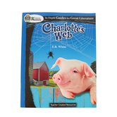 Teacher Created Resources, Rigorous Reading: Charlotte's Web, Grades 3-5, Paperback, 80 Pages