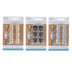 The Board Dudes, Metallic Push Pin Hooks, Silver or Gold or Black, 6 Pieces