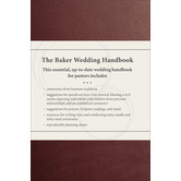 The Baker Wedding Handbook, by Paul E. Engle, Hardcover