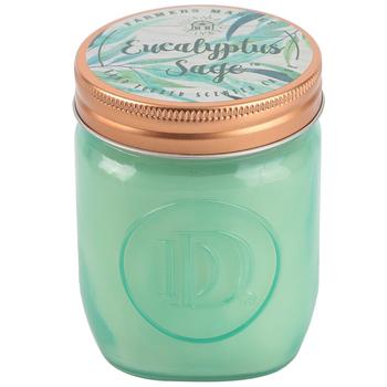 Winfield Home Decor, Eucalyptus Sage Jar Candle, Green, 10 1/2 Ounces