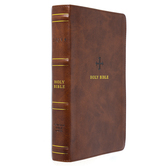 NRSV Catholic Personal-Size Bible, Imitation Leather, Multiple Colors Available
