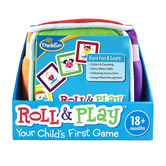 ThinkFun, Roll & Play: Your Child's First Game, 18 Months and Older, 2 or More Players