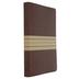 NIV Thinline Bible, Large Print, Duo-Tone, Brown and Tan