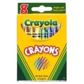 Crayola, Classic Crayons, 8 Count