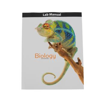 BJU Press, Biology Student Lab Manual, 5th Edition, Grade 10