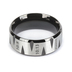 Spirit & Truth, Roman Road, Men's Ring, Stainless Steel, Size 10
