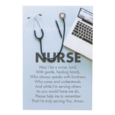 Dicksons, Nurse Prayer Pass-It-On Card, Pale Blue, Black, and White, 2 x 3 inches