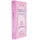 NVI Biblia Princesa Spanish Bible, Hardcover, Pink