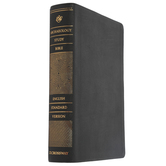 ESV Archaeology Study Bible, Genuine Leather, Black