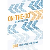 On-the-Go Devotional: 200 Devotions for Teens, by B&H Kids, Paperback