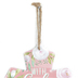 With God All Things Are Possible Floral Wall Cross, Metal, 9 x 6 1/4 x 1/8 inches