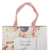 Christian Art Gifts, Proverbs 31:26 When She Speaks Gift Bag, Medium, 9 3/4 x 7 3/4 inches
