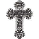 Abbey and CA Gift, Baptismal Blessings Cross