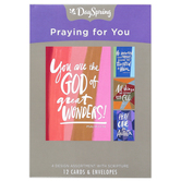 DaySpring, Scripture Boxed Praying For You Cards, 12 Cards with Envelopes