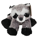 Aurora, Mini Flopsies, Rascal the Raccoon Stuffed Animal, 8 Inches