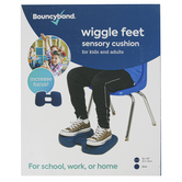 Bouncyband, Wiggle Feet for Kids and Adults, Portable, Blue, 12 x 15 x 2.5 Inches, Ages 5-99