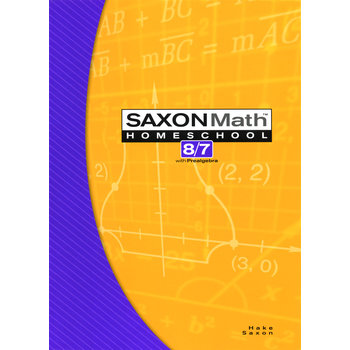 Saxon Math 8/7 Homeschool Tests & Worksheets