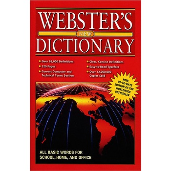 Bazic Products, Webster's New Dictionary, Paperback, 320 Pages