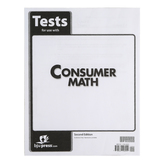 BJU Press, Consumer Math Tests, 2nd Edition, Grades 11-12