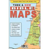Then & Now Bible Maps Pamphlet, by Rose Publishing