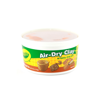 Crayola Air-Dry Clay, 2 1/2 Pounds, Terra Cotta