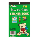 Eureka, Inspirational Sticker Book, 5.75 x 9.5 Inches, Multi-Colored, Book of 526