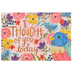 ThreeRoses, Bird and Floral Watercolor Thinking of You Cards, 12 count