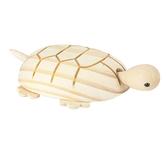 Woodpile Fun!, Wooden Tortoise, 6 7/8 x 4 1/4 Inches
