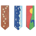 Wander Ridge Collection, Magnetic Bookmarks, .75 x 2 Inches, Multi-Colored, Pack of 6