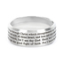 Spirit & Truth, Popular Medley Logos, Men's Ring, Stainless Steel, Silver, Size 10